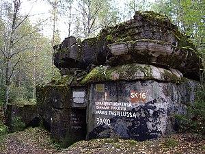 Mannerheim Line - Bunker Sk16 (2009)