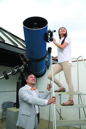 Storm King School - Parks Newtonian telescope