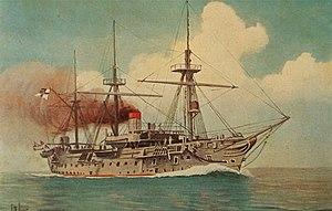 SMS Blücher (1877) - Image: SMS Blücher (1877)