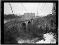 SOUTH ELEVATION, LOOKING EAST-1976 - Rocky River Bridge, Spanning Beaver Dam River, Rocky River, Cuyahoga County, OH HAER OHIO,18-RORI,1-17.tif