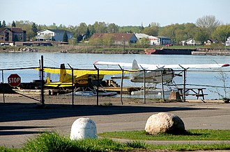 Sault Ste. Marie Water Aerodrome - Image: SSM Water Aerodrome