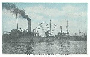 SS Hewitt - Image: SS Hewitt Postcard