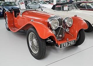 SS Jaguar 100 - 2½ Litre 1938
