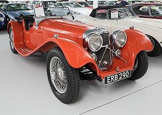 SS Jaguar 100 - A 1938 SS Jaguar 100 - 2 1⁄2 Litre