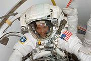 STS120 EVA1Wheelock