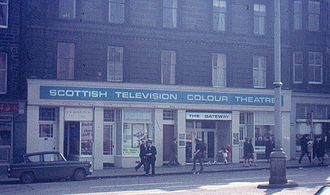 Scottish Television - The Gateway, Leith Walk, Edinburgh (June 1974)