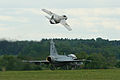 Saab J29 Tunnan and JAS-39 Gripen (8375515103).jpg