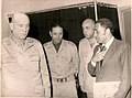 Saad el-Shazly with Hiekal and Ismail at front.jpg