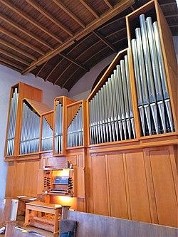 Saarbrücken-Burbach, Matthäuskirche (Ott-Orgel, Prospekt) (0).jpg