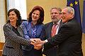 Saeimas priekšsēdētāja piedalās ES nacionālo parlamentu spīkeru konferencē Viļņā (13692348655).jpg