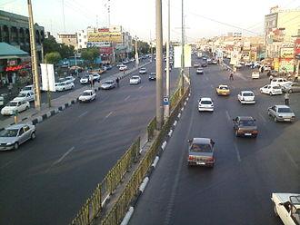 Eslamshahr County - Image: Saidi Expressway 2