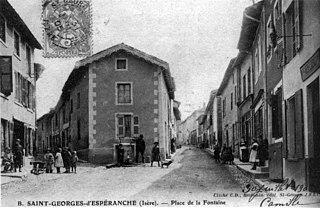Saint-Georges-dEspéranche Commune in Auvergne-Rhône-Alpes, France