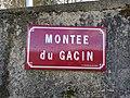 Saint-Just-d'Avray - Montée du Gacin - Plaque (janv 2019).jpg