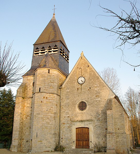 Église Saint-Laurent, La Chapelle sur Oreuse (Yonne)