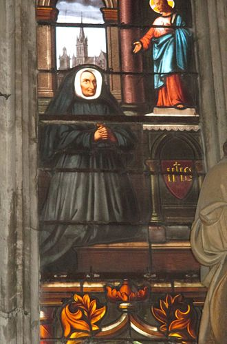 Madeleine Sophie Barat - Stained glass window in Saint-Thibault's Church in Joigny where St. Madeleine-Sophie Barat was baptized in 1779.