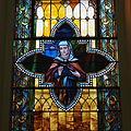 Saint Augustine Catholic Church (Lebanon, KY) - stained glass, St. Monica.jpg