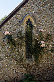 Saints Simon and Jude's Church Quendon nave east window Essex England.jpg