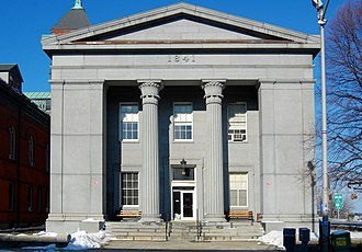 Richard Bond (architect) - Essex County Courthouse, Salem, 1839.