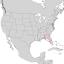 Salix floridana range map 1.png
