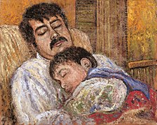 Samir Sammoun with his son Self Portrait.jpg