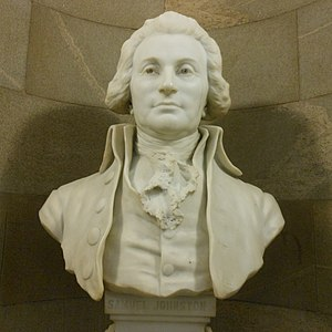 Samuel Johnston - Image: Samuel Johnston Bust