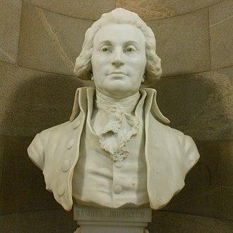 Samuel Johnston - Image: Samuel Johnston Bust