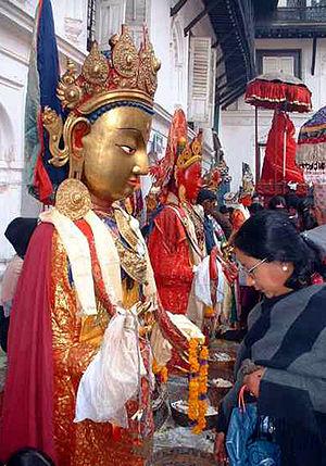 Uray (caste group) - Samyak at Kathmandu Durbar Square