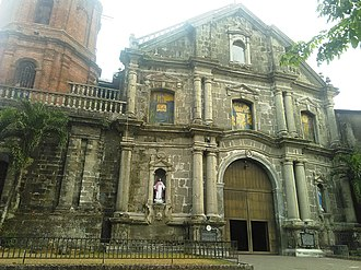 Pila, Laguna - Facade of the San Antonio de Padua Parish in Pila, Laguna