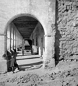 Mission San Fernando Rey de España - Image: San Fernando Rey de Espana circa 1900 Keystone Mast