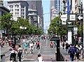 San Francisco Market St サンフランシスコ マーケットストリート - panoramio.jpg