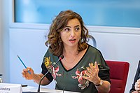 Sandra Nashaat Egyptian Film Director Speaks at Panel Discussion on Women in Creative Industries.jpg