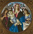 Sandro Botticelli - Madonna z Dzieciątkiem, Św. Janem i Aniołem.jpg