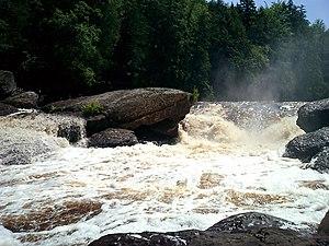 Black River (Gogebic County) - Sandstone Falls