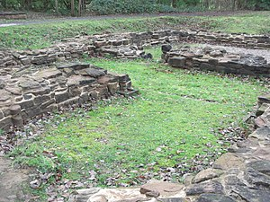 Sandwell Priory - Remains of the south chapels of the priory church.