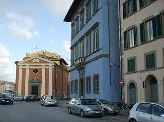 Consorzio ICoN - The administration is based at Piazza dei Facchini next to the Palazzo Blu in Pisa.