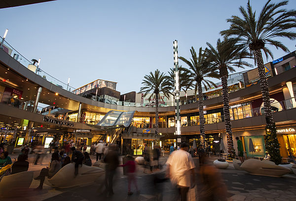 Shopping Malls In Los Angeles County California