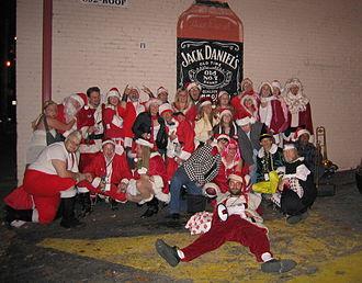 SantaCon - In Atlanta, 2006