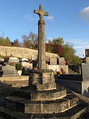 croix de cimetière de Santeuil