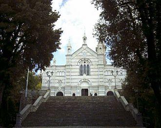 Rapallo - Sanctuary of Nostra Signora di Montallegro.