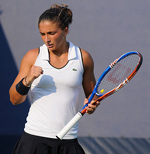 Sara Errani - Sara Errani at the 2010 US Open