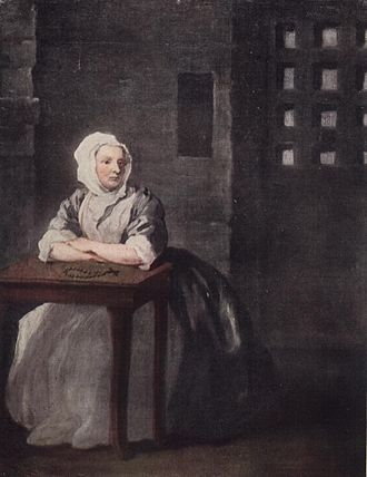 1733 in art - Image: Sarah Malcolm by William Hogarth