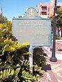 Sarasota FL Burns Court marker01.jpg