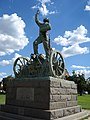 Sarel Cilliers memorial on the grounds of Kroonstad's NG Moederkerk.jpg