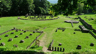 Romania - Ruins of sanctuaries at Sarmizegetusa Regia (Dacia's capital during the reigns of Burebista and Decebalus).