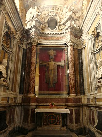 Sarzana Cathedral - The Cross of Maestro Guglielmo