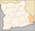 Satovcha Municipality Blagoevgrad Oblast map.png