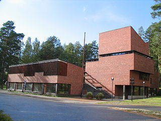 administrative building in Jyväskylä, Finland