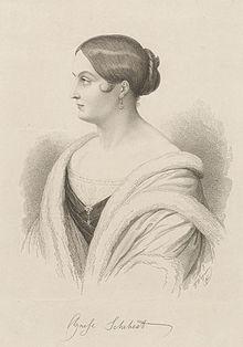 Agnese Schebest (Quelle: Wikimedia)