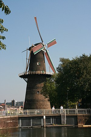 Tower mill - Dutch windmill De Noord, Schiedam