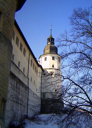 Heidenheim an der Brenz - Schloss Hellenstein in winter